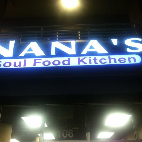 Photo taken at Nana's Soul Food Kitchen by Kimilee B. on 2/23/2013