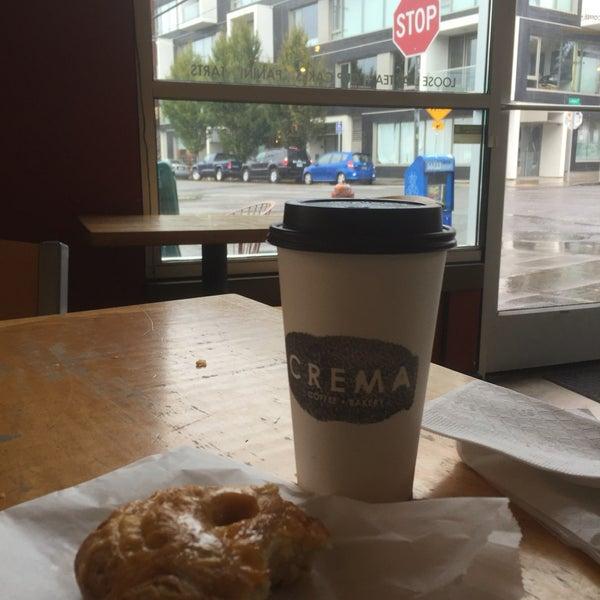 Photo taken at Crema Bakery and Cafe by Kari B. on 9/17/2016
