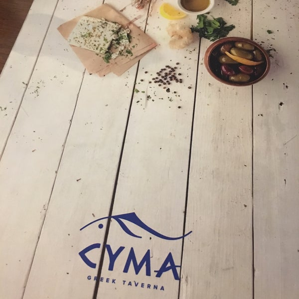 Photo taken at Cyma by Elaine C. on 4/5/2017