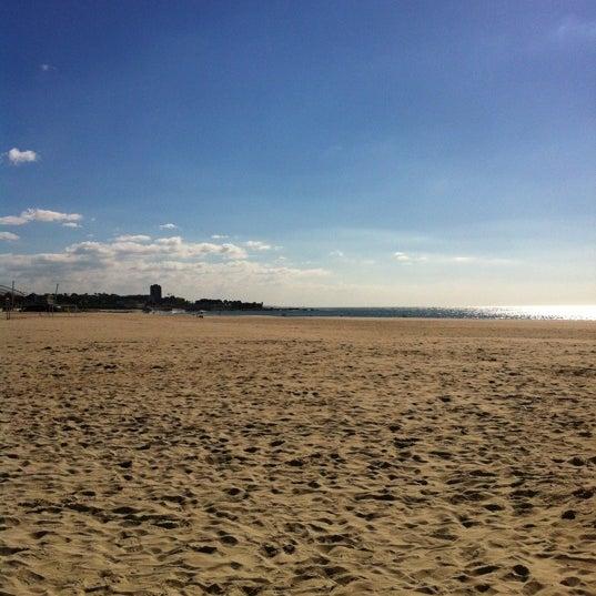 Photo taken at Praia do Titan by Helder G. on 10/27/2012