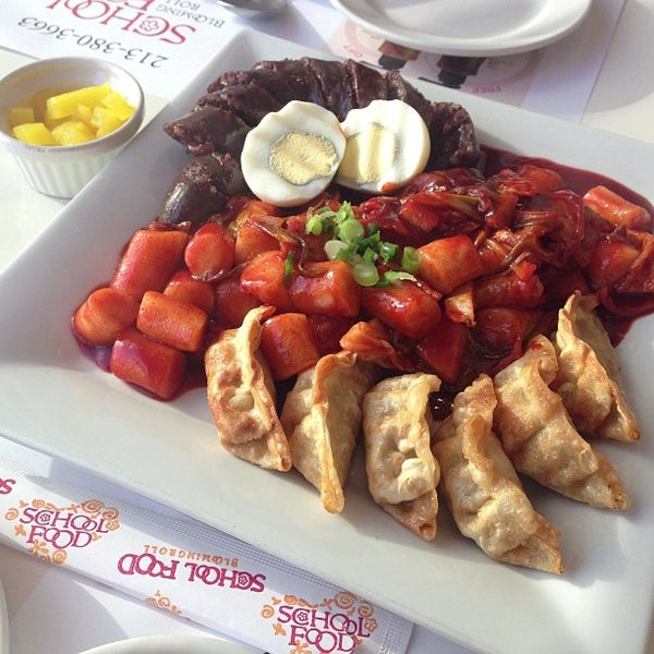 Photo taken at School Food by Jina P. on 5/16/2013