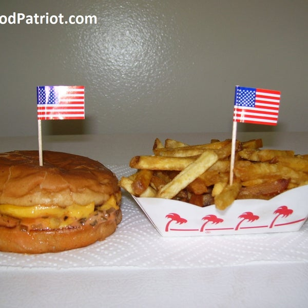 Try the Double Double & Well Done Fries for $5.40  www.FastFoodPatriot.com