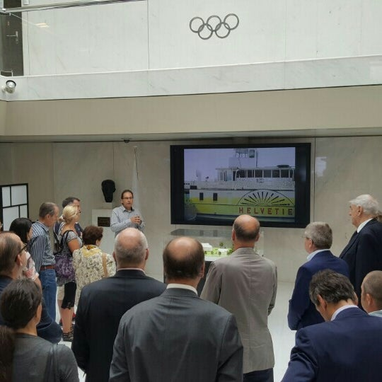 Photo taken at International Olympic Committee by Panos T. on 6/27/2015