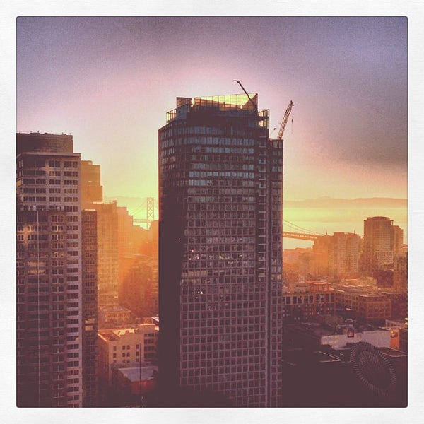 Photo taken at San Francisco Marriott Marquis by Mike F. on 6/29/2013