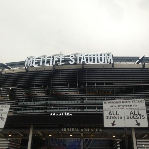 Photo taken at MetLife Stadium by Athina F. on 7/25/2013