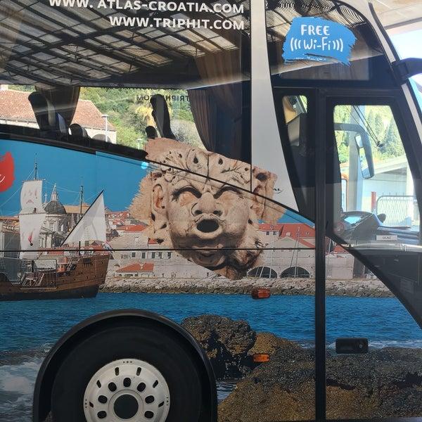 Photo taken at Autobusni Kolodvor Dubrovnik | Dubrovnik Bus Station by Mehmet on 4/10/2017
