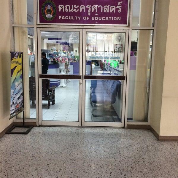Photo taken at Chiang Mai Rajabhat University by singleelle on 2/14/2017