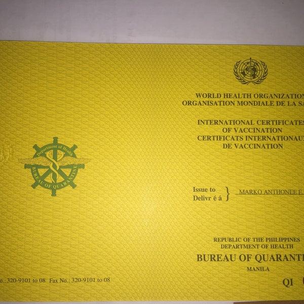 Bureau of quarantine south harbor city of manila for Bureau quarantine