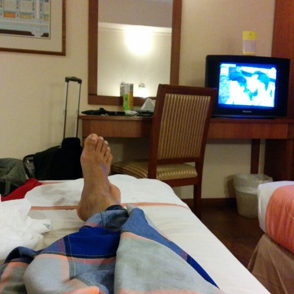 Photo taken at Hotel Puri by Muhammad Z. on 4/13/2014