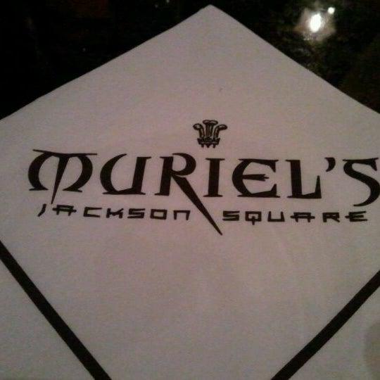 Photo taken at Muriel's Jackson Square by Corrine G. on 3/14/2012