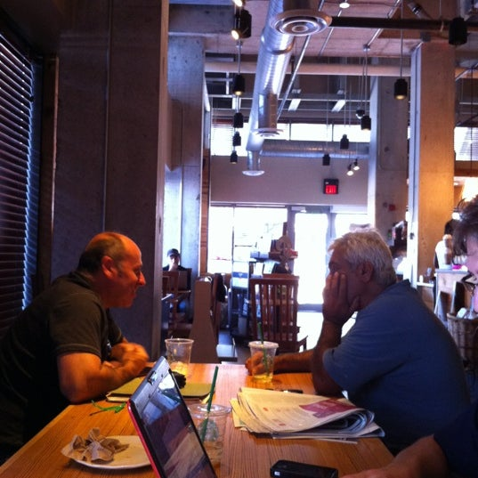 Photo taken at Starbucks by Sacha T. on 8/24/2012