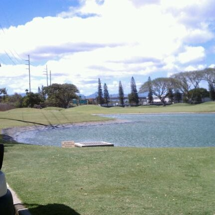 Photo taken at Navy Marine Golf Course by Kevin N. on 3/15/2012
