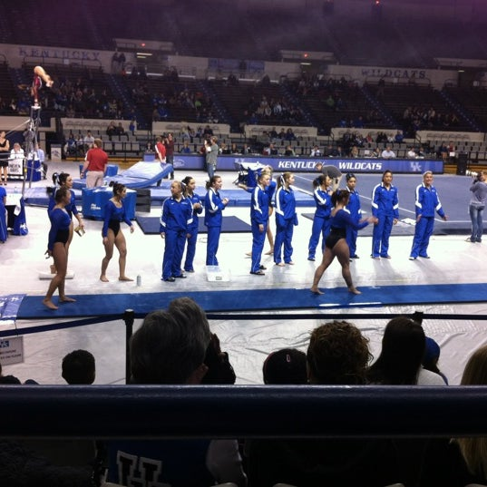 Photo taken at Memorial Coliseum by Bill B. on 2/11/2012