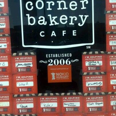Photo taken at Corner Bakery Cafe by Crystal L. on 9/6/2012