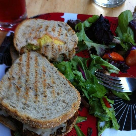 Photo taken at Sugar Plum Vegan Cafe by Phillip U. on 2/23/2012