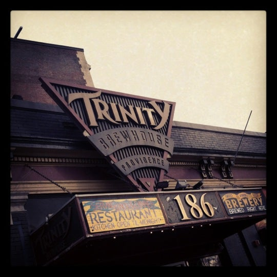 Photo taken at Trinity Brewhouse by TJ on 4/26/2012
