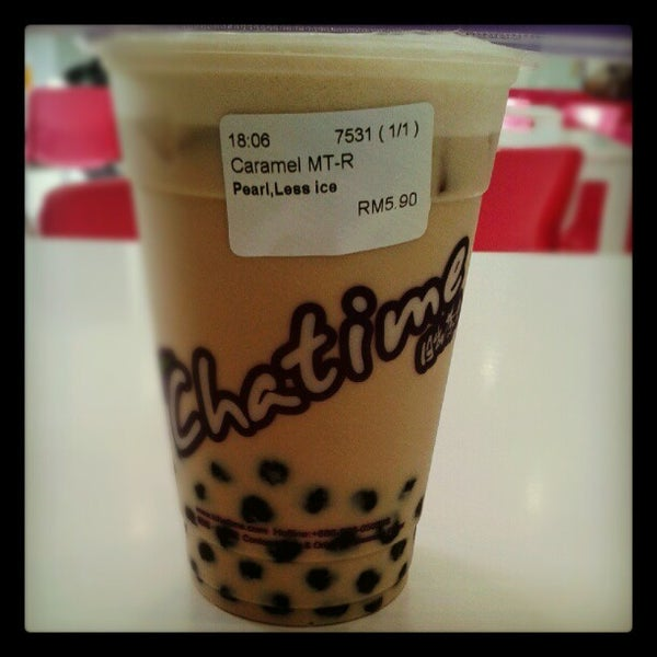 Photo taken at Chatime by Shamal N. on 8/28/2012