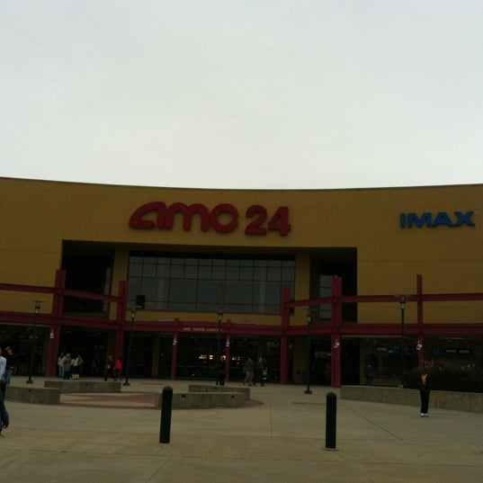 Photo taken at AMC Hampton Towne Centre 24 by Stephanie W. on 2/4/2012