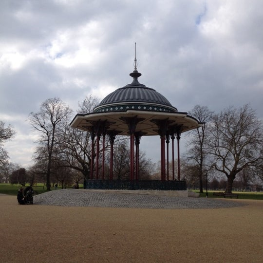 Photo taken at Clapham Common by Damir D. on 3/18/2012