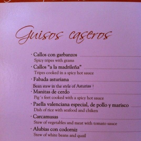 Foto tomada en Restaurante Placido por mets el 4/11/2012