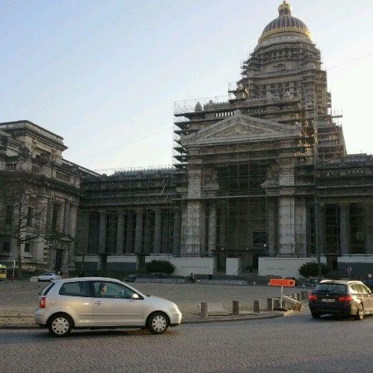 Photo taken at Justitiepaleis / Palais de Justice by Sebran on 3/22/2012