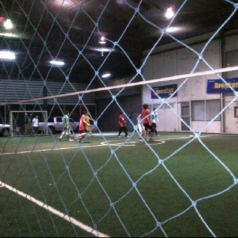 Photo taken at SD Indoor Soccer by Narit Y. on 2/8/2012