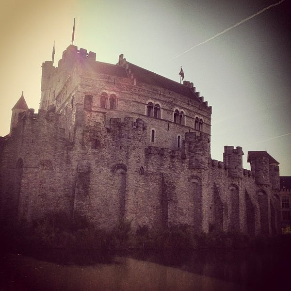 Photo taken at Castle of the Counts by travelformotion on 8/11/2012