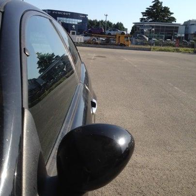 Photo taken at Parcheggio Via Sassonia by Namer M. on 7/20/2012