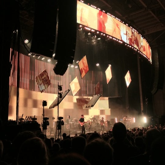 Photo taken at Xfinity Center by Penny C. on 5/30/2012
