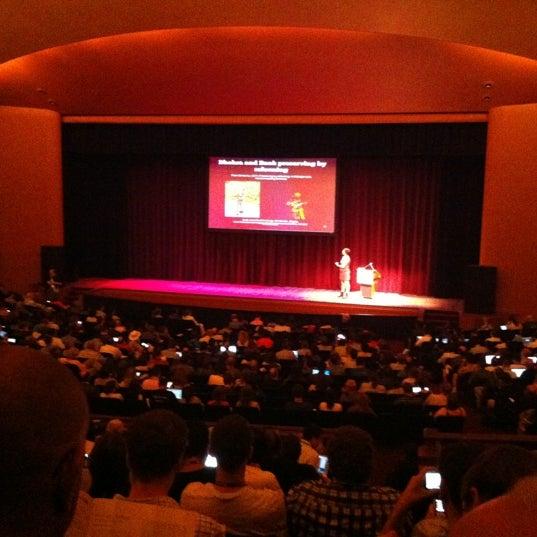 Photo taken at Lisner Auditorium by Justin G. on 7/12/2012