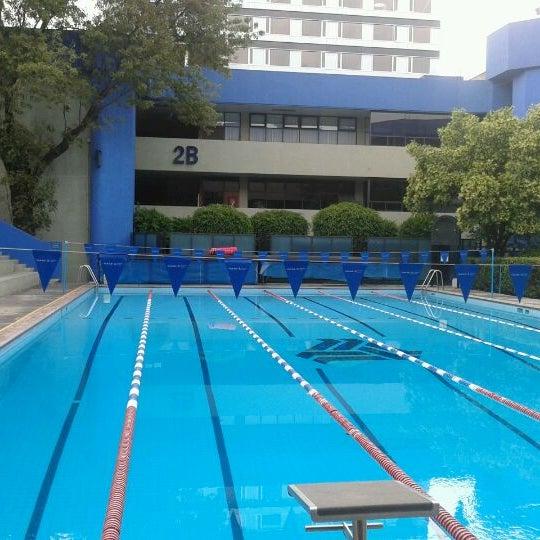 Alberca ulsa piscina en hip dromo condesa for Piscina la salle bonanova