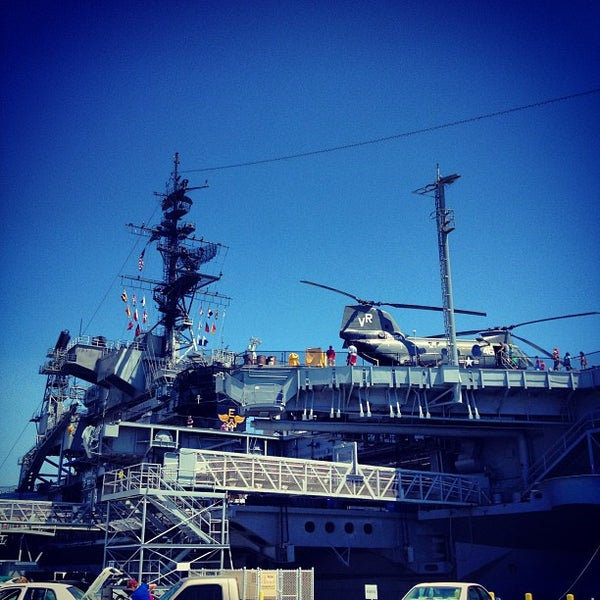 Photo taken at USS Midway Museum by Dave M. on 7/29/2012