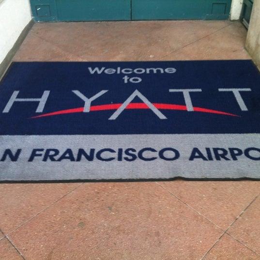 Photo taken at Hyatt Regency San Francisco Airport by Masashi S. on 2/27/2012