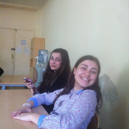 Photo taken at Школа №1249 by nyra on 4/28/2012
