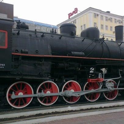 Photo taken at Железнодорожный вокзал Владивостока / Vladivostok Railway Station by Aleksandr V. on 6/9/2012