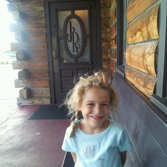 Photo taken at JR's Log House Restaurant by Keith R. on 7/29/2012