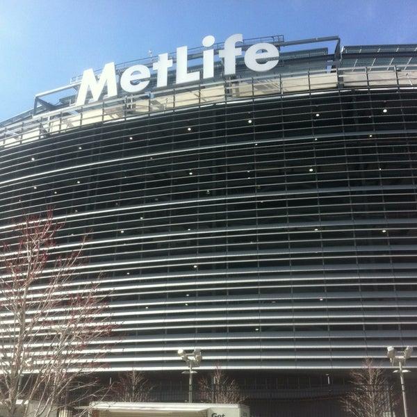 Photo taken at MetLife Stadium by Ryno A. on 4/7/2013