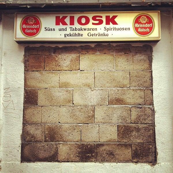 Photos at Kiosk Garin - Severinsviertel - 1 tip
