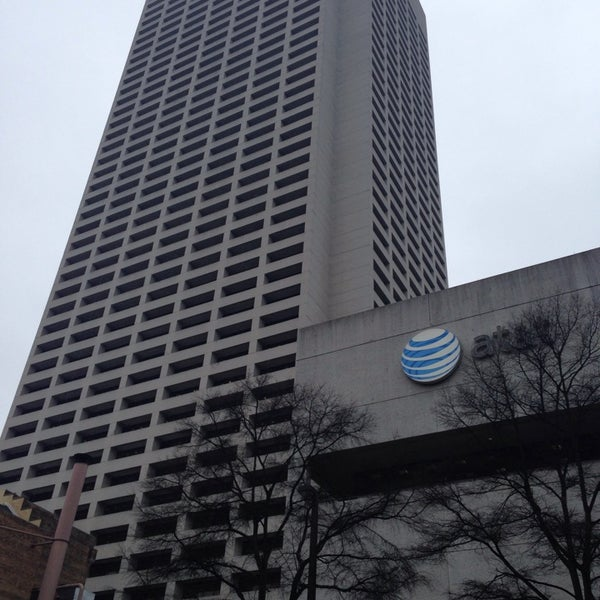 Photo taken at AT&T Tower by Jarrid H. on 2/4/2014