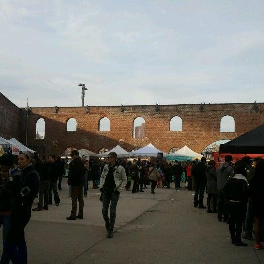 Photo taken at Smorgasburg by Courtney on 11/18/2012