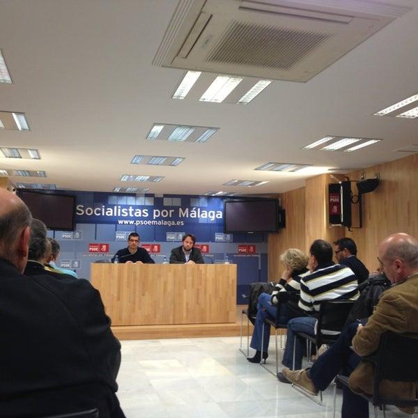 Foto tomada en PSOE de Málaga por Regina C. el 2/12/2013