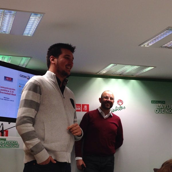 Foto tomada en PSOE de Málaga por Regina C. el 2/11/2014