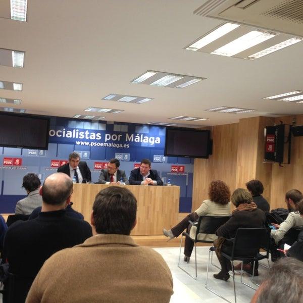 Foto tomada en PSOE de Málaga por Regina C. el 3/4/2013