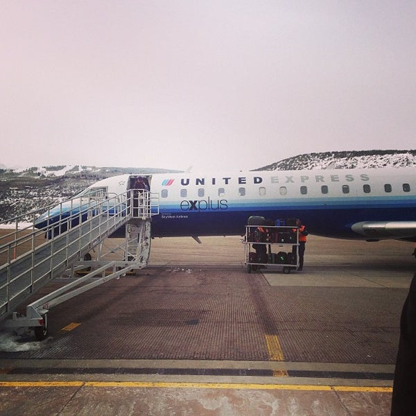 Photo taken at Aspen/Pitkin County Airport (ASE) by David R. on 2/23/2013