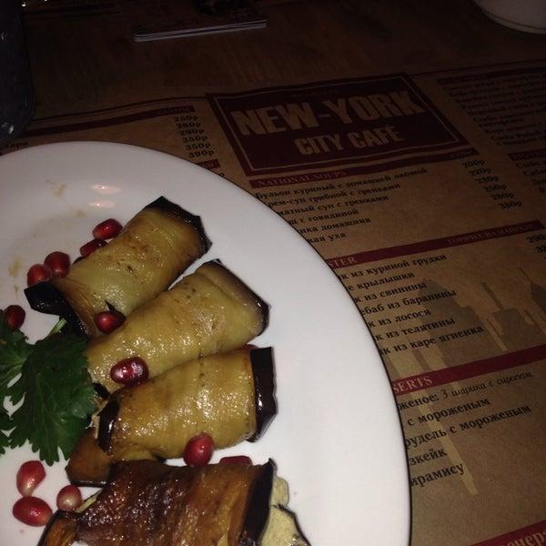 Снимок сделан в New York City Cafe пользователем Aleksandra G. 2/11/2015