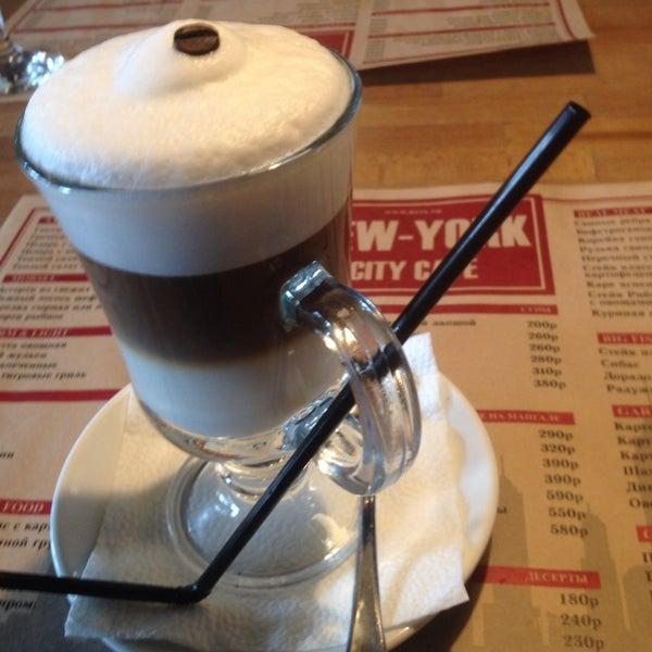 Снимок сделан в New York City Cafe пользователем Aleksandra G. 5/1/2015