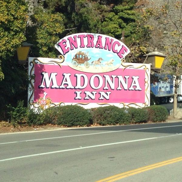 Photo taken at Madonna Inn by Ariana B. on 11/18/2013