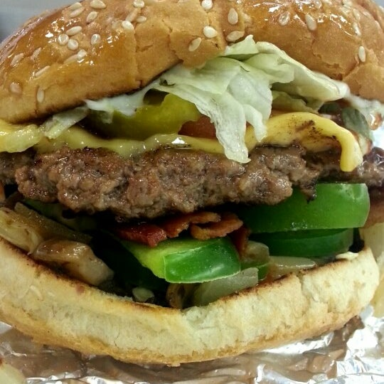 Photo taken at Five Guys by Tera D. on 3/3/2015