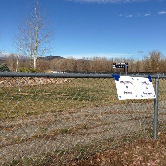 Photo taken at Prentup Field by Jeremy M. on 11/22/2012