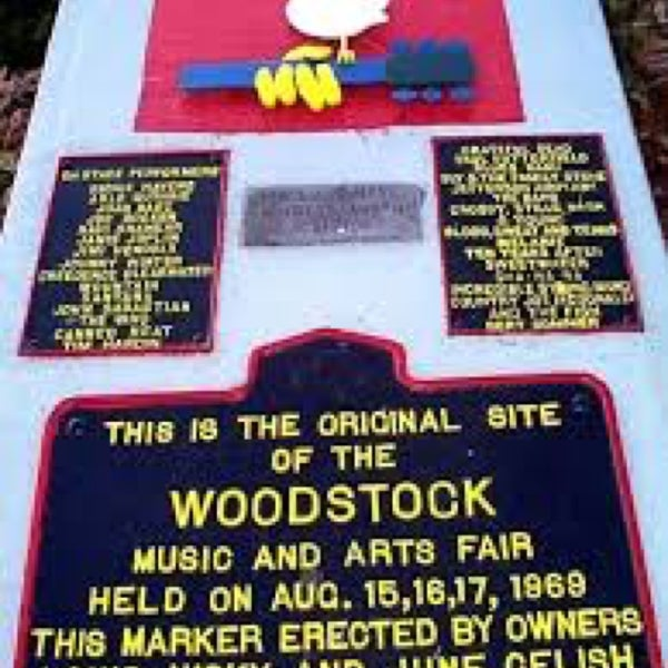 Photo taken at Woodstock Festival Concert Site/Monument by Stephanie K. on 7/28/2017